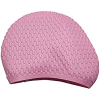 sanniya Flessibile Impermeabile Silicone Cuffia per il nuoto Adulto  Waterdrop Design Swim Head Cover Proteggi Cuffie d1afc68b376b