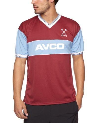 Score Draw Official Retro West Ham - Camiseta deporte