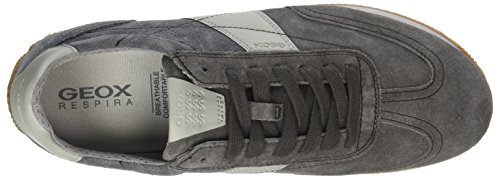 Geox Herren U Vinto B Sneaker Grau (MUD/Anthracite)