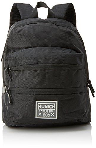 Munich 6500156, Mochila Unisex Adultos, Negro (Black), 18x40x33 cm (W x H x L)