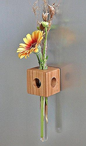 Magnetvase Kirsche Blumenvase Test Tube Vase