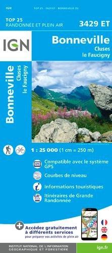 3429ET BONNEVILLE CLUSES LE FAUCIGNY par Collectif