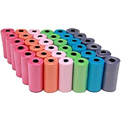 BPS (R) Bolsas de Caca Bolsa Extremento 36 Rollos, Total 540 Bolsas, Poop Bag para Perro, Mascotas, Animales Domésticos (36 rollos) BPS-2329-2