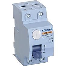 Interruptor diferencial (101620253240B, fusible automático, disyuntor), 40A 300mA 2 - Polig