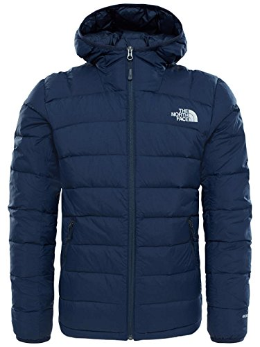 Fit-high Rise (North Face M La Paz Hooded Jacket Herren Jacke, – EU, Blau – (Urban Navy/High Rise Grey))