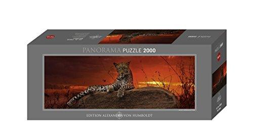 Heye Puzzles - Panorama , 2000 Pc - Red Dawn by Heye - Panorama Pc