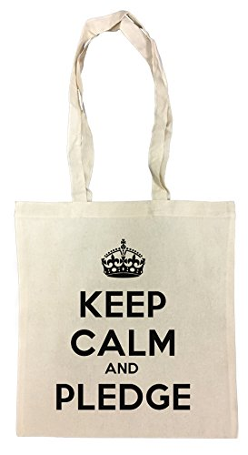 keep-calm-and-pledge-bolsa-de-compras-playa-de-algodon-reutilizable-shopping-bag-beach
