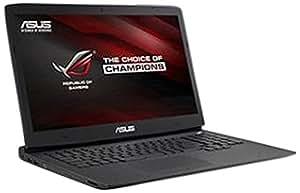 """Asus G751JY-T7052H PC Portable 17"""" Noir (Intel Core i7, 16 Go de RAM, 1000 Go, Nvidia GeForce GTX980M, Windows 8.1)"""