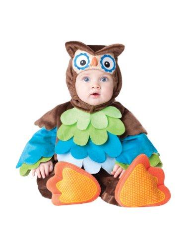 Entzückendes und qualitatives Baby-Eulen-Kostüm Größe 74