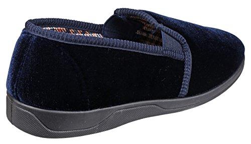 Mirak Andy - Pantofole Invernali Chiuse - Uomo Blu marino