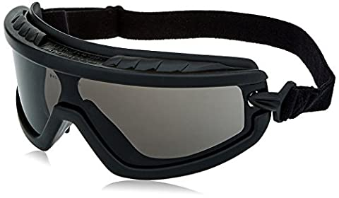 Radians BG1-20 Barricade Lightweight Smoke Lens Compact Goggle with Adjustable Elastic Strap by Radians