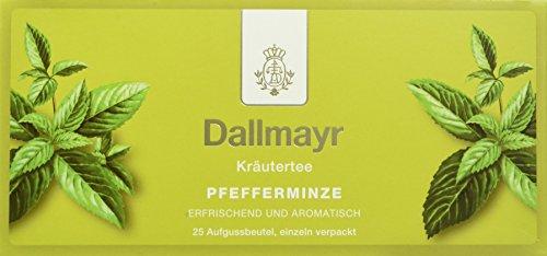 Dallmayr Tee Aufgussbeutel - Pfefferminz Tee, 1er Pack (1 x 43,75 g)