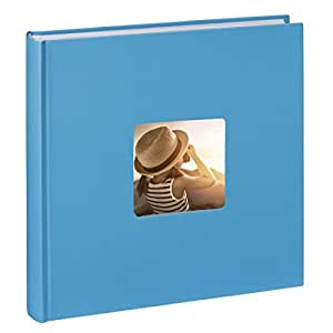 Hama Fine Art Album Fotografico, Azzurro, 3 x 3