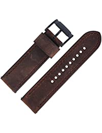 Fossil Watch Strap 24 mm Brown Leather Watch Strap Jr 1487