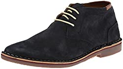 Kenneth Cole Reaction Mens Desert Sun Chukka Boot, Navy, 10 M US