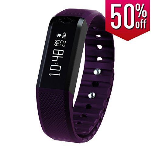 toprime-x6pp-pulsera-inteligente-podometro-alertas-de-informacion-y-telefonicas-color-morado