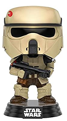 Star Wars Rogue One - Scarif Stormtrooper Vinyl Bobble-Head 144 Figurine de collection