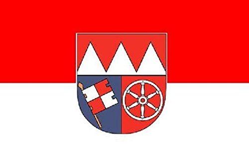 U24 Fahne Flagge Unterfranken Bootsflagge Premiumqualität 20 x 30 cm