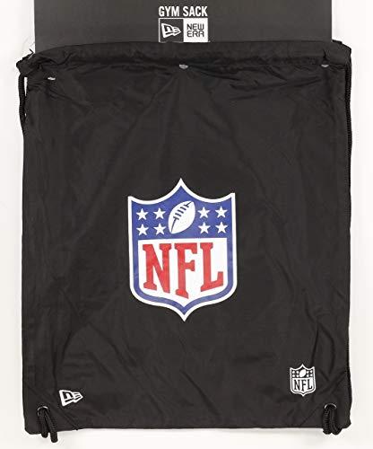 New Era NFL Gym Sack Nflgen Blkotc Tasche und Rucksack, Unisex Erwachsene, Schwarz, Einheitsgröße