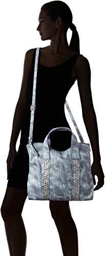 Tamaris - Ursula Shopping Bag, Borsa shopper Donna Blau (denim)