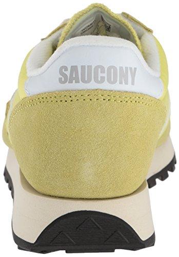 Saucony Jazz Original Vintage, Chaussures de Gymnastique Femme Jaune (Yel/wht 24)