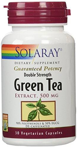 Double Strength Estratto Di Tè Verde, Decaffeinato, 500 mg, 30