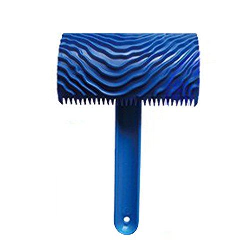 MagiDeal-Wood-Graining-Blue-Rubber-Painting-Effects-Tool-with-Handle-Texture-Pattern-DIY-Home-Wall-Decor