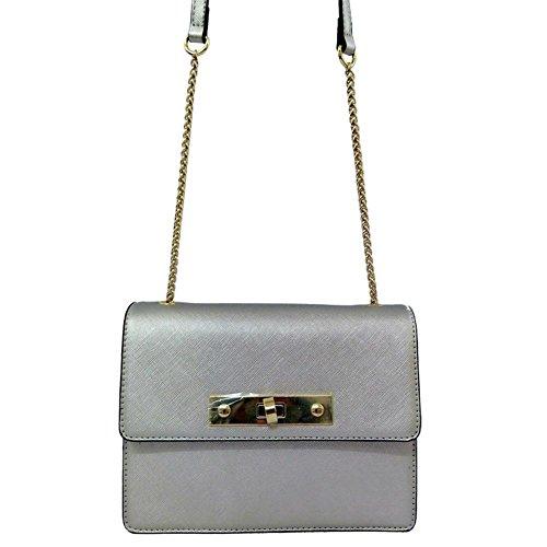 GBT Die neue Art- und Weiseschulter-Beutel-Frauen silver pearl light