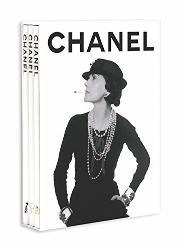 Chanel Set of 3 Slipcased Set (Memoire) por Francois Baudot