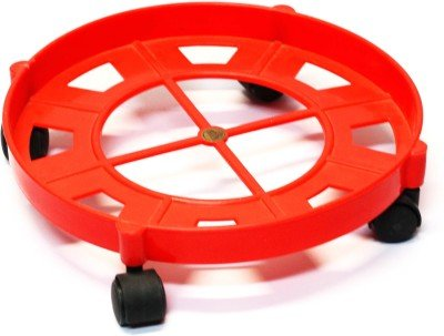Farraige Gas Cylinder Trolley With Wheels | Gas Trolly | LPG Cylinder Stand  available at amazon for Rs.265