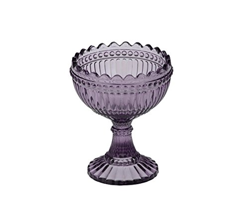 Loire Coupe/Sundae Auflaufform von Anton Studio Designs 9,5 cm - Violett Holly Coupe
