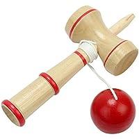 Primi mano-ojo equilibrio Skill Kid Kendama bola japonés tradicional juego de madera juguete