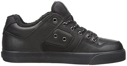 DC Shoes PURE SE SHOE D0301024, Herren Sneaker, weiss, Black 3