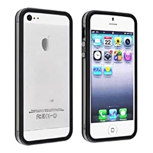 Phoenix Bumper Frame Cover For Iphone 4 4S With Side Buttons Black Color