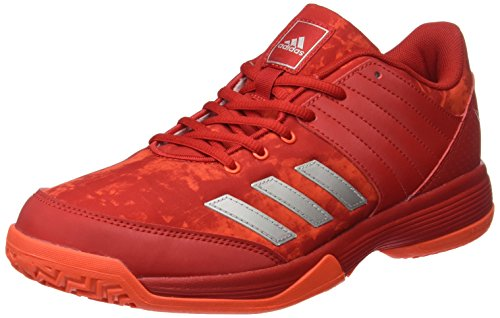 adidas Ligra 4, Chaussures de Volleyball Femme, Orange (Easy Coral/FTWR White/Glow Orange), 41 1/3 EU