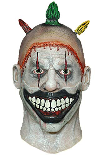 American Horror Story Adult Costume Face Mask Twisty The Clown Economy Mask