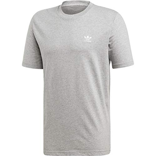 adidas Herren Essential T T-Shirt, medium Grey Heather, S