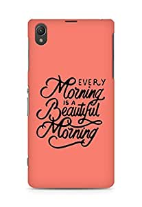 AMEZ every morning is a beautiful morning Back Cover For Sony Xperia Z1 C6902