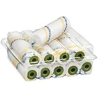 10 X Profi Lackierwalze Nylon 10cm 6mm Flor   2K Und Epoxid Lackrolle  Lackwalze Lackierroller
