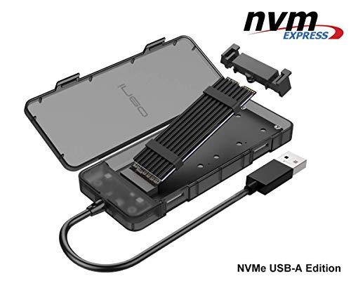 NVMe M.2 SSD USB 3.1 Gen2 Caja Carcasa USB Tipo A