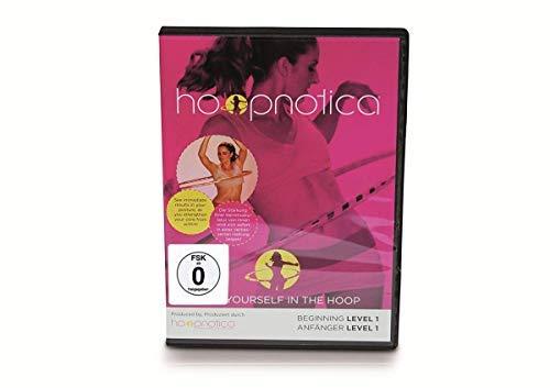 hoopnotica DVD Bundle Set Travel Hoop Hula Hoop Fitness Reifen Gymnastikreifen Fitnessgerät Erwachsene Anleitung Türkis Silber (Reifen Erwachsenen Dvds)