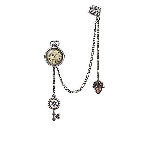 Alchemy Gothic Uncle Albert's Timepiece Ohrstecker Standard - Alchemy Lab