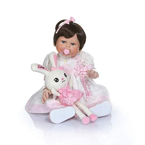 Kostüm Wie Leben - LIULAOHAN Simulation Babypuppe, Baby Wiedergeburtspuppe, Soft Vinyl Silikon Leben wie Puppen & Kostüme Kinder über 2 Jahre wachsen als Geschenkbadepartne (Size : Style A)