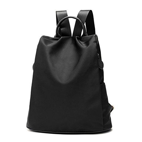 Meoaeo Nylon Tasche All-Match Wasserdicht Weibliche Schultern In Oxford black