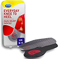 Scholl Orthotic Insole Knee to Heel Pain Relief, Large, UK Size 9-11