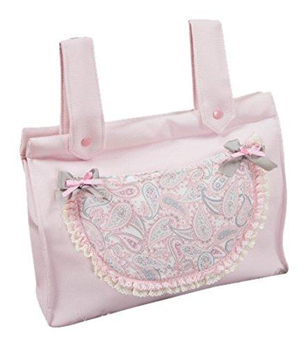 Babyline Caramelo - Bolso panera para silla de paseo, color rosa