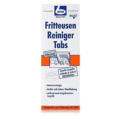 Friteuse Nettoyant les tablettes 10Pcs