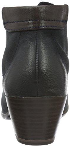 Tamaris 25115, Boots à doublure froide - Style combat femme Bleu (Navy 805)