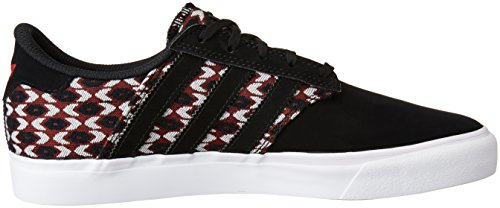adidas Seeley Premiere Herren Sneakers Black White Red