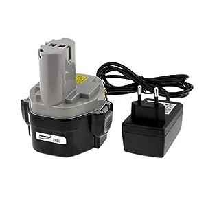 Batería para Llave de Impacto Makita 6935FDWDE Li-Ion incl. Cargador 1750mAh Celdas japon, 14,4V, Li-Ion